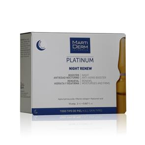 MartiDerm - Night Renew - 10 ampolas