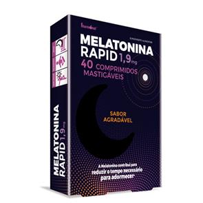 Melatonina Rapid 1,9mg - 40 comp. - Fharmonat