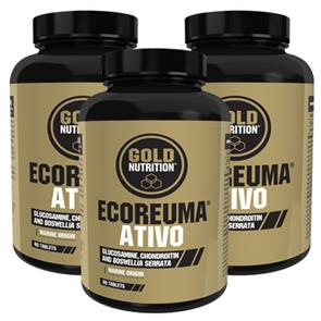Pack 3 EcoReuma Ativo GoldNutrition