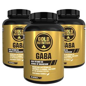 Pack 3 Gaba GoldNutrition