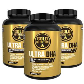 Pack 3 Ultra DHA GoldNutrition