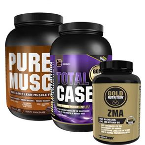 Pack Aumento da Massa Muscular GoldNutrition