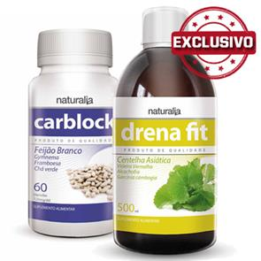 Pack Carblock + Drena Fit Naturalia