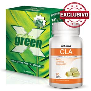 Pack CLA Naturalia + Extreme Cut Green