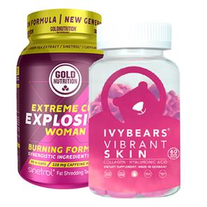 Pack Extreme Cut Explosion Woman e Ivy Bears Skin