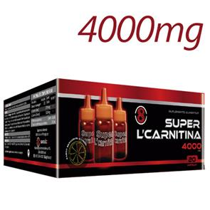 Super L-Carnitina 4000 - 20 amp.
