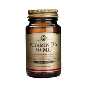 Vitamina B6 50 Mg - Solgar